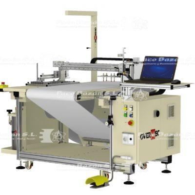 Excelente sistema de encolado por pulverización, de última generación Overmec CCNO T1