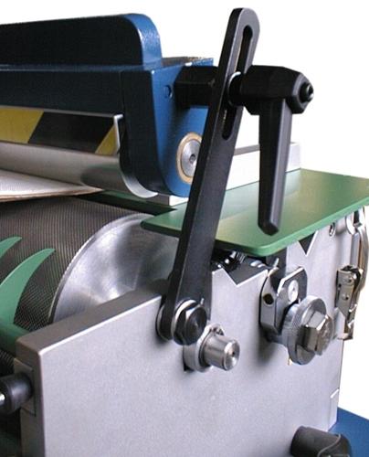 máquina de revestimiento de rodillos OMAV ECOL-350