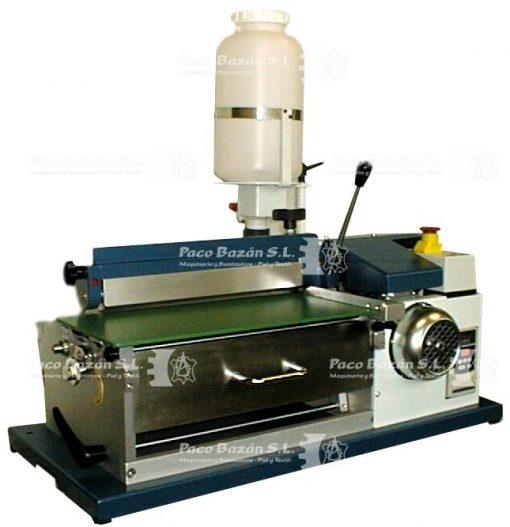 máquina de revestimiento de rodillos OMAV ECOL-250