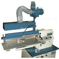 maquinaria para marroquinería de todo tipo, desde sistemas de encolado con rodillo hasta maquina de coser plana industrial