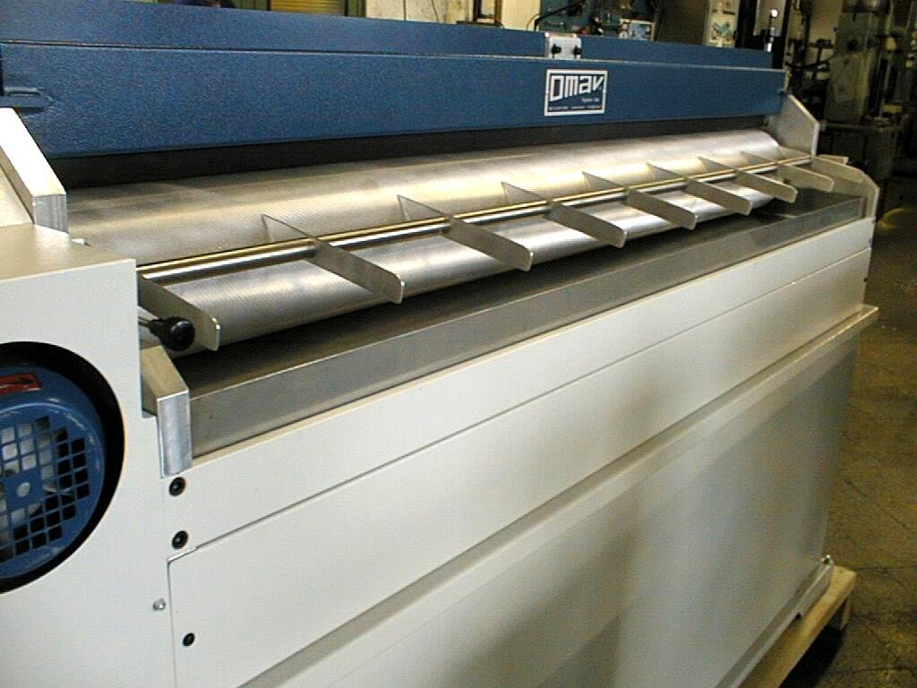 Excelente máquina para colocar pegamento de forma uniforme a distintos materiales textiles