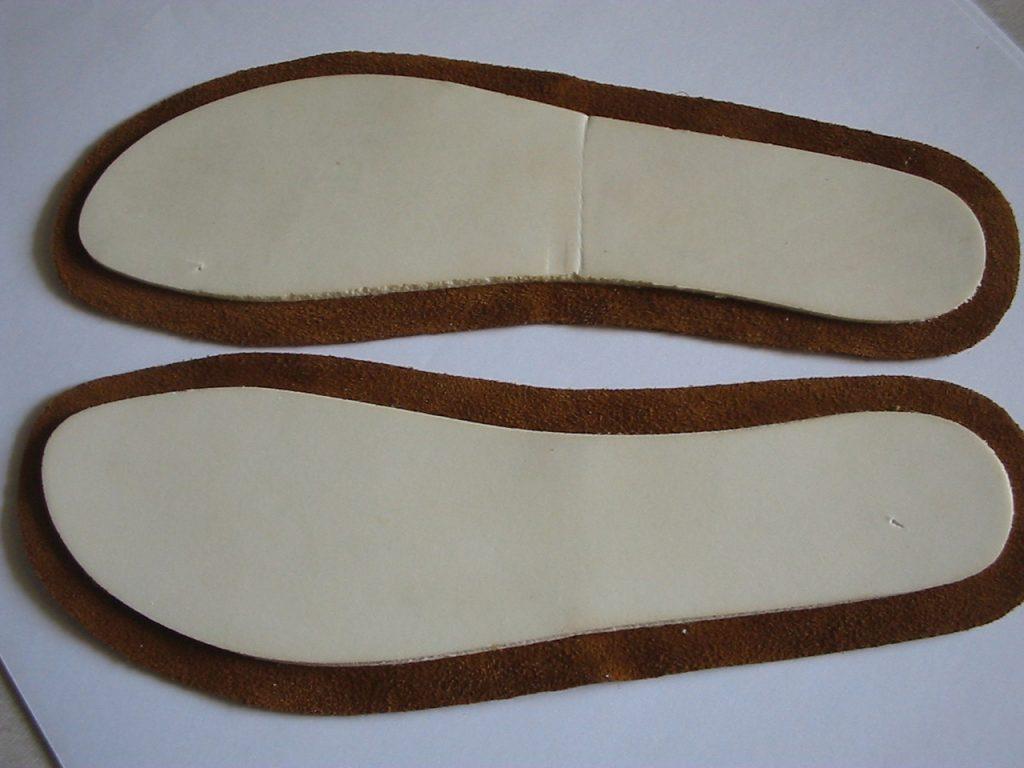 producto final de maquinaria para calzado