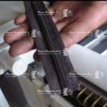 cinta de textil con barras pegamento termofusible
