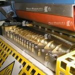 Rodillo central de máquina para colocar pegamento termofusible