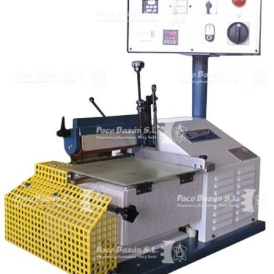 Máquina adhesivos para marroquinería de alta capacidad