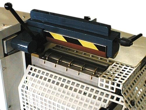 rodillo lateral con prensa para aplanar y aplicar pegamento termofusible