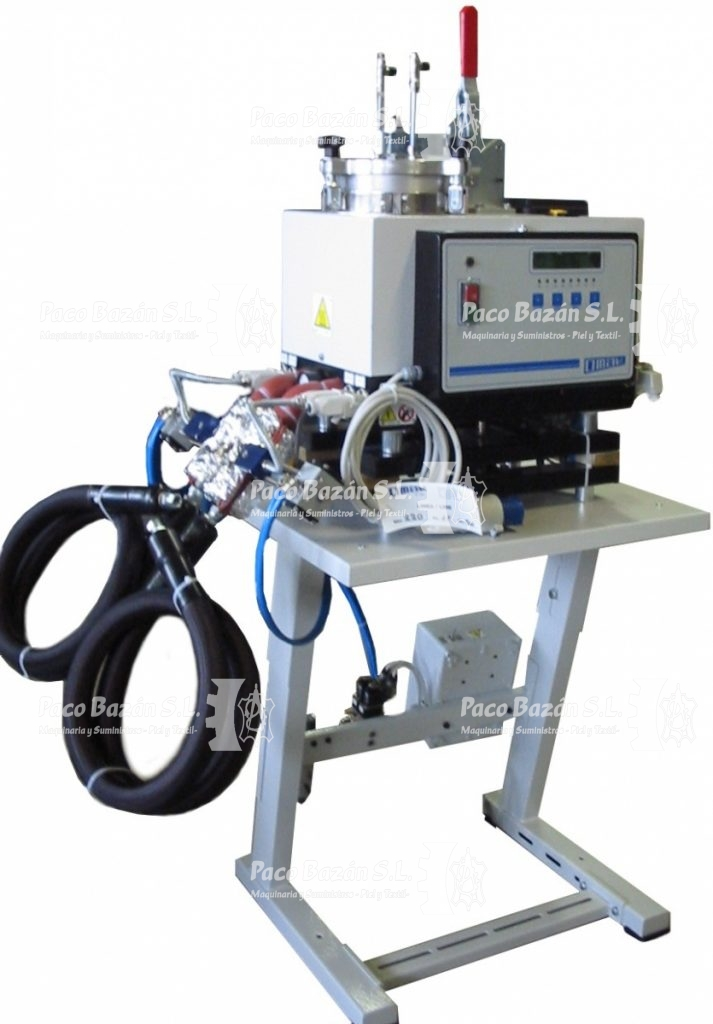 maquinaria para colocar adhesivos termofusibles