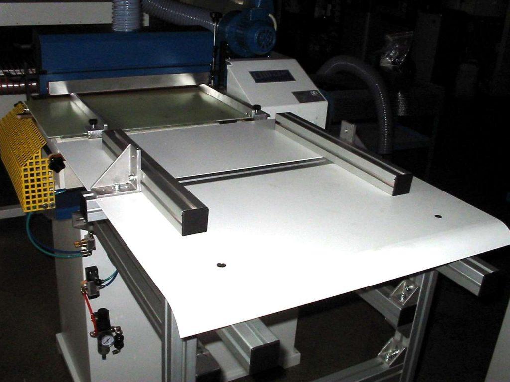 mesa de trabajo de máquina para planar y pegar