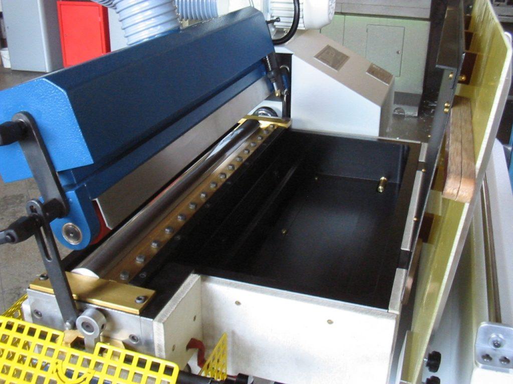 cilindro principal para aplicar pegamento y aplanar textiles