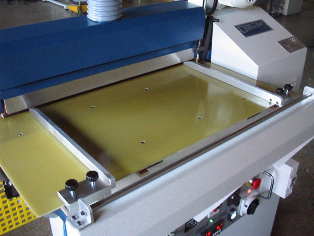 panel para aplicar pegamento de máquina para aplanar y pegar