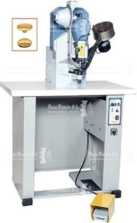 poner broches con máquina JOPEVI J-596-A
