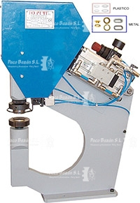 Maquina manual para colocar ollaos y arandelas JOPEVI J-26