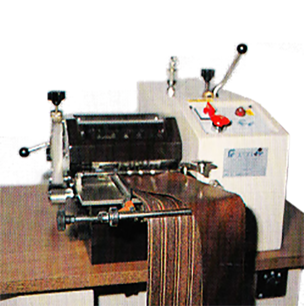 Maquina para ensamblar y cortar cuero