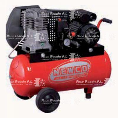 Excelente compresor de aire de piston en Paco Bazan, modelo N2.8-50C-2M