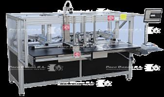 maquina industrial Sagitta MR15-CN B-3H automatización en remachado