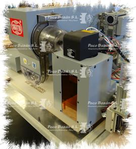 Maquina remachadora industrial de alta capacidad y bajo consumo.