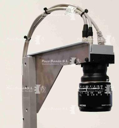 lente controlador del proceso productivo de la maquina industrial