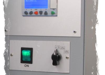 panel control maquinas remachadoras textiles