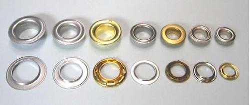 foto de ojales de diferentes tamaños