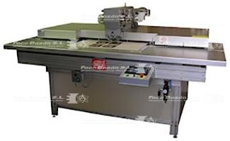 Maquina Sagitta MR15-CN-2H diseñada para colocar diferentes remaches y ojales