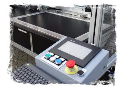 panel de control de la maquina industrial Sagitta MR15-CN B-3H