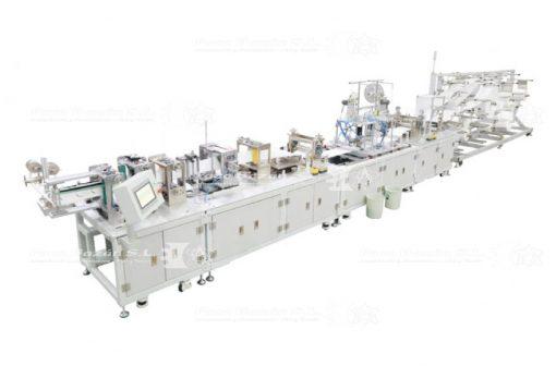 Línea completa de máquina de hacer mascarillas contra el COVID-19