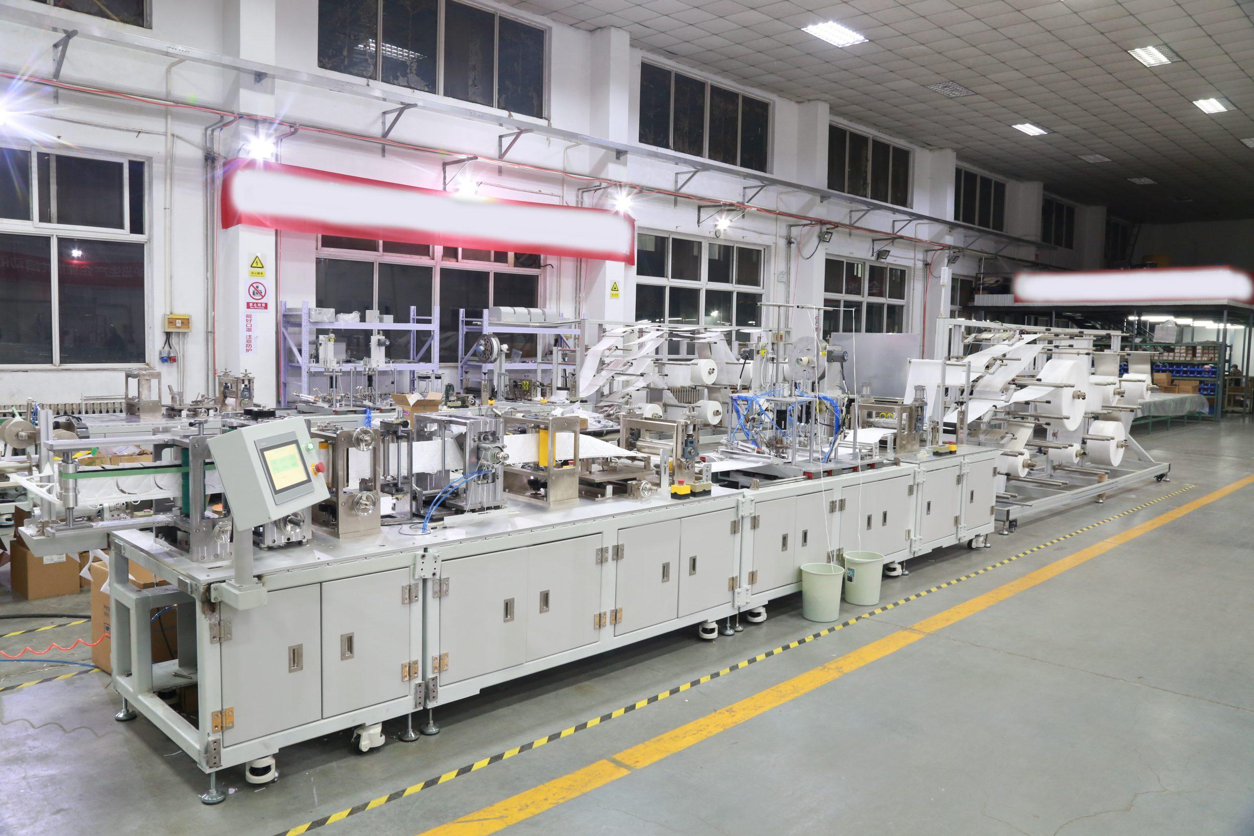 máquina de hacer mascarillas de alta calidad FFP2